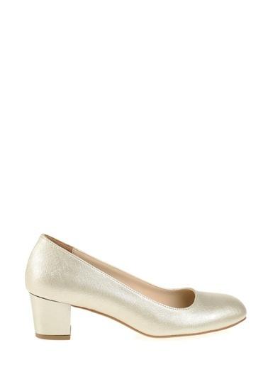 Derigo Topuklu Ayakkabı Altın